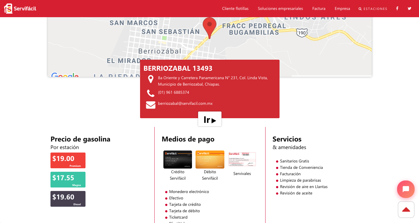 Servifacil.com.mx Profile Screenshot